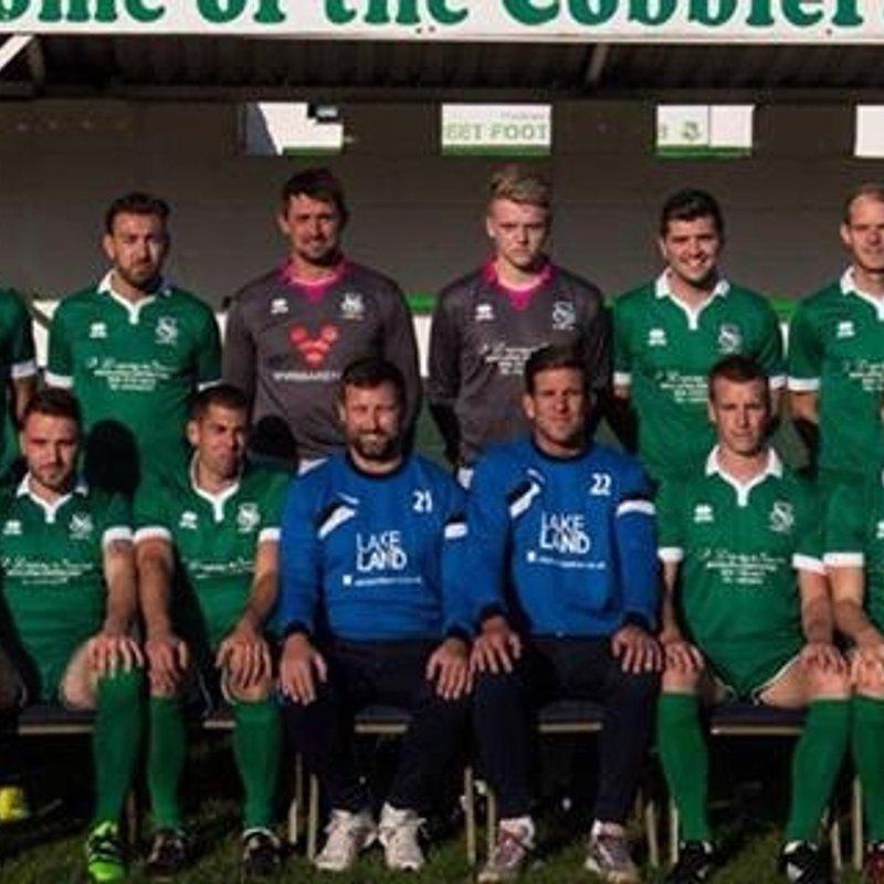 1st Team beat Clevedon Town 1 - 3
