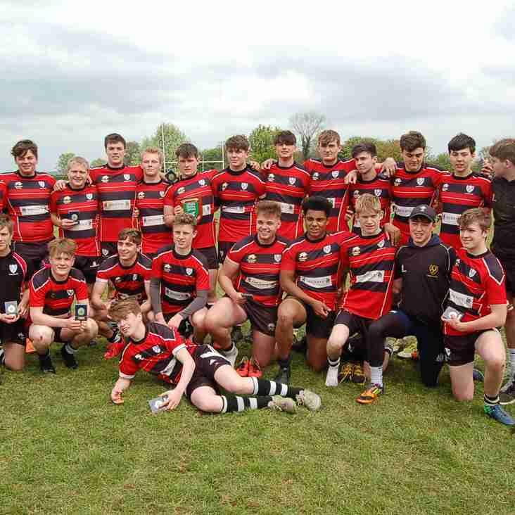Chippenham RFC Under 16's Dorset and Wiltshire Champions 2016-2017