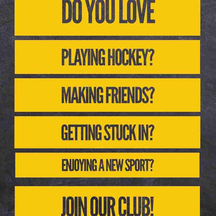 Join our club! Info for new members 2018/9
