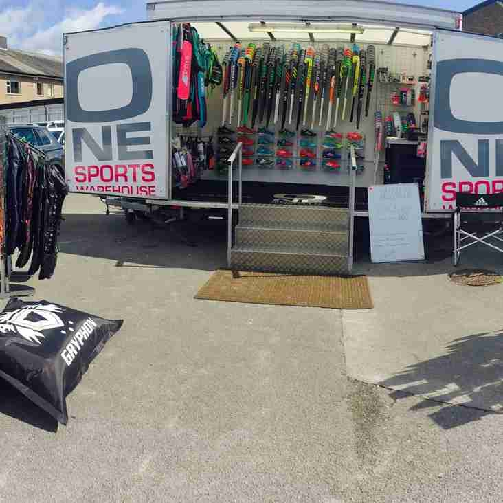 One Sports Warehouse at training this Monday!