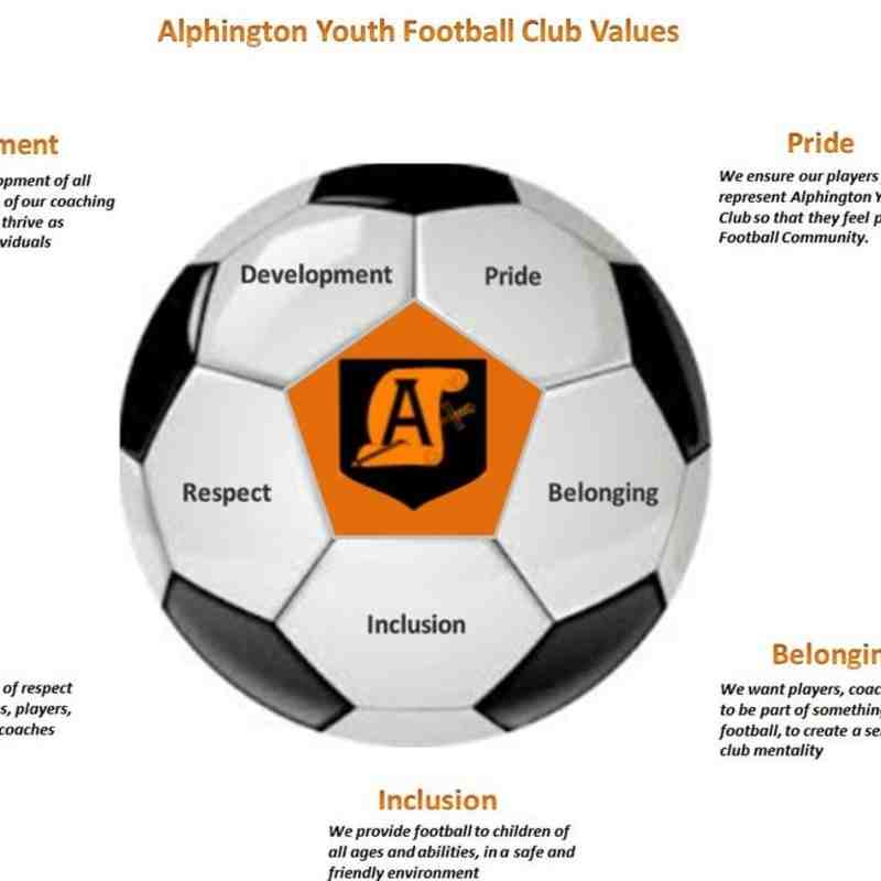 Alphington Club Values
