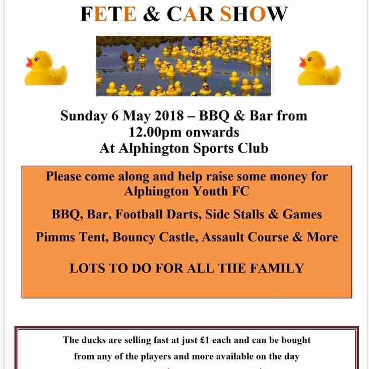 Duck Race 2018 - Fete & Car Show