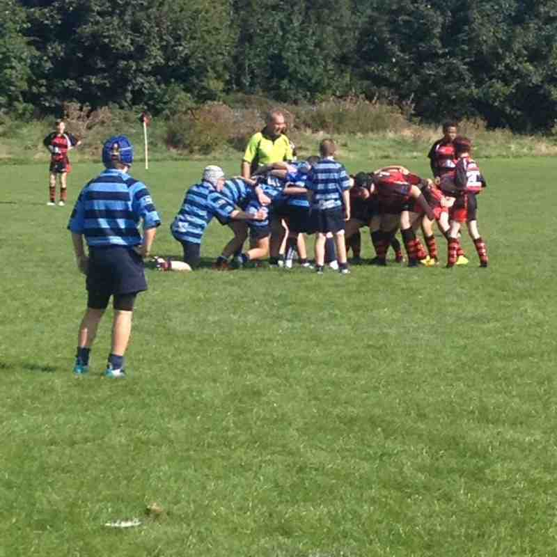 Liverpool Collegiate U13's v Wigan 2nd October 2016