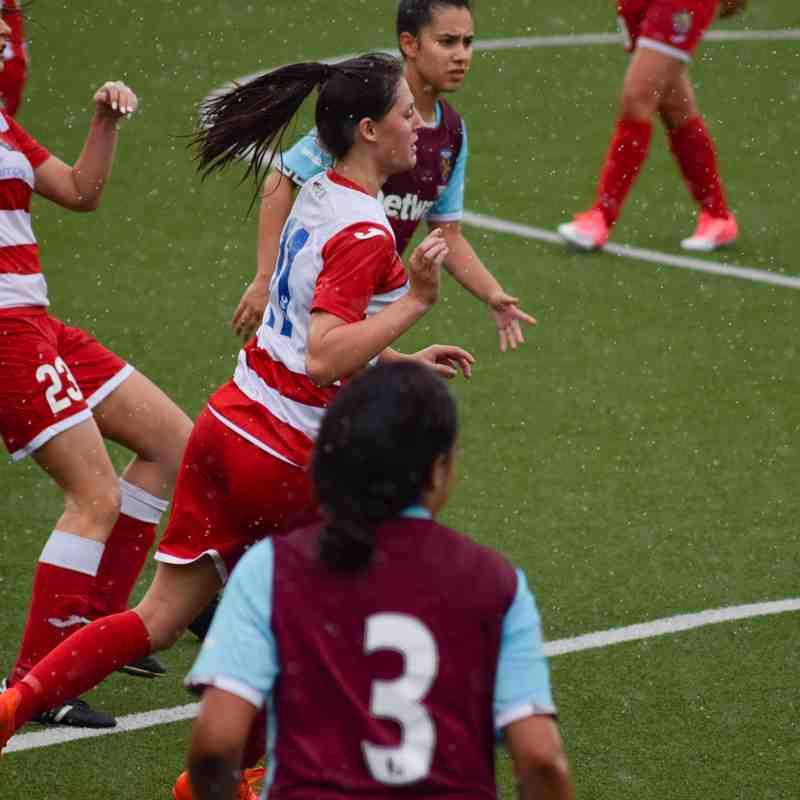 Pre-season friendly Harlow Ladies v West Ham Ladies