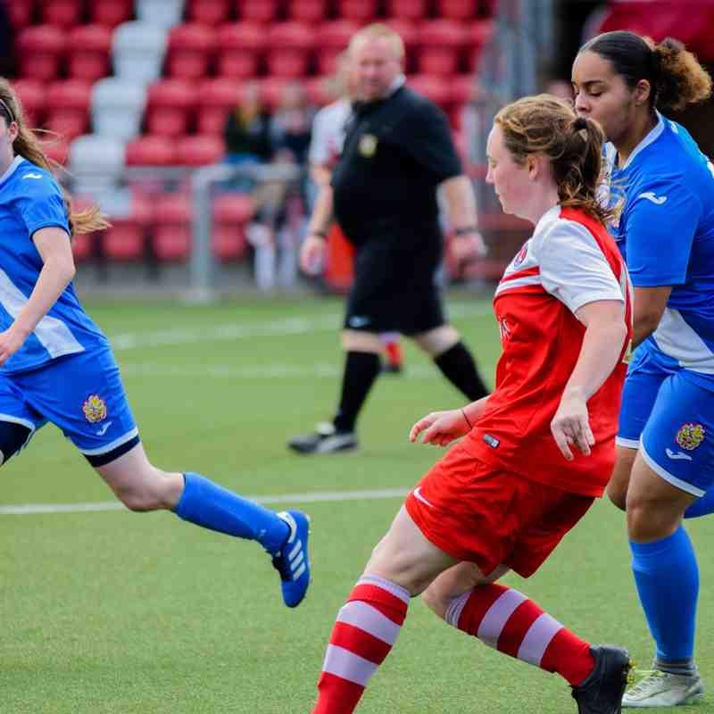 Pre-season friendly Harlow v Charlton Athletic