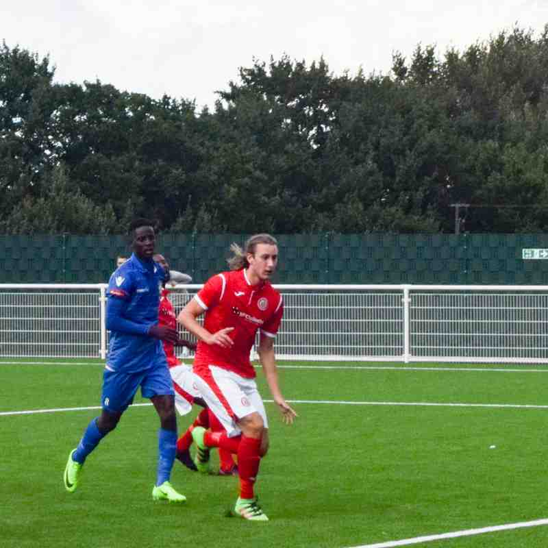 Pre-season friendly Aveley 0 - 2 Harlow 4.8.17