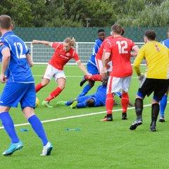 Pre-season friendly Aveley 0 - 2 Harlow 4.8.17