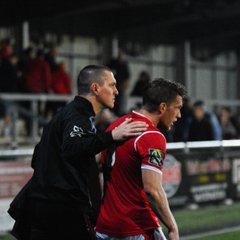 FA Cup replay 6.9.17 Harlow 2 - 1 Thurrock