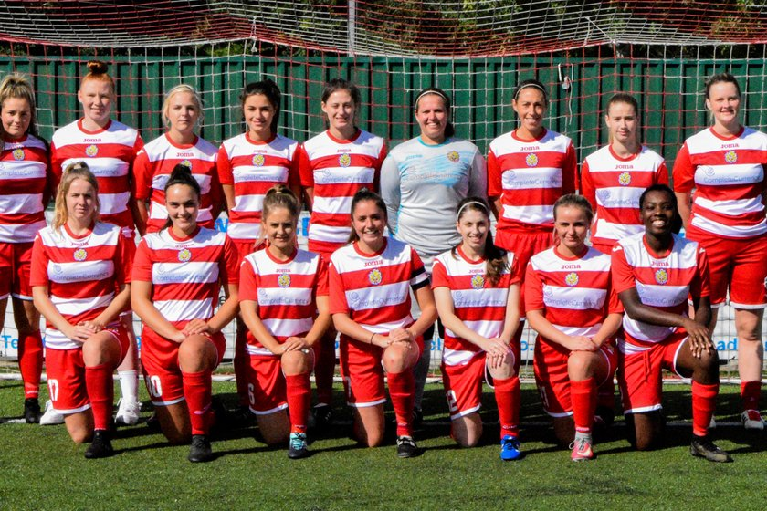 Ladies First Team beat Colney Heath Ladies 4 - 1