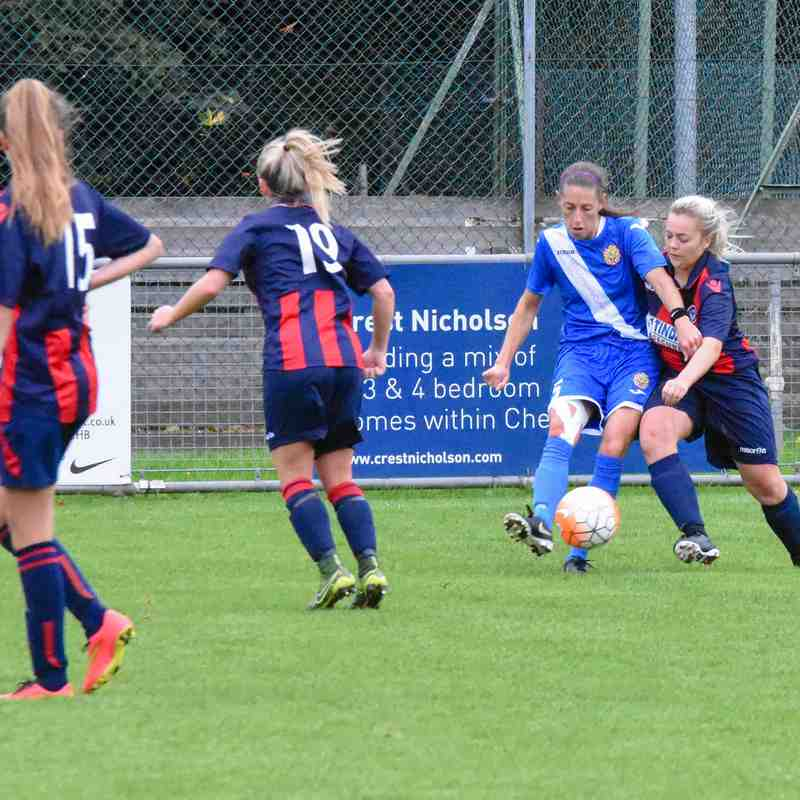 Hoddesdon Owls 1-3 Harlow Ladies League Cup 1st October