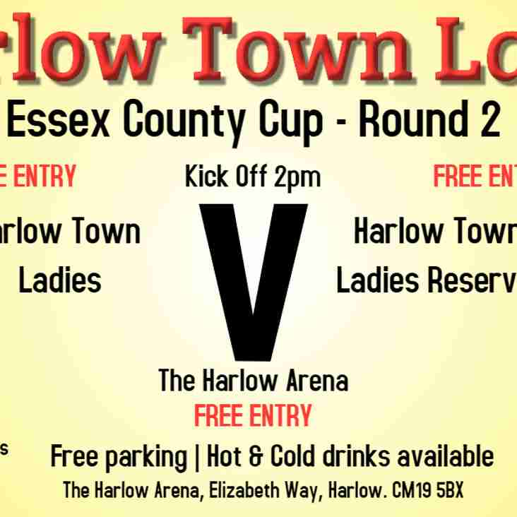 Harlow Ladies Take on Ladies Reserves in Essex County Cup