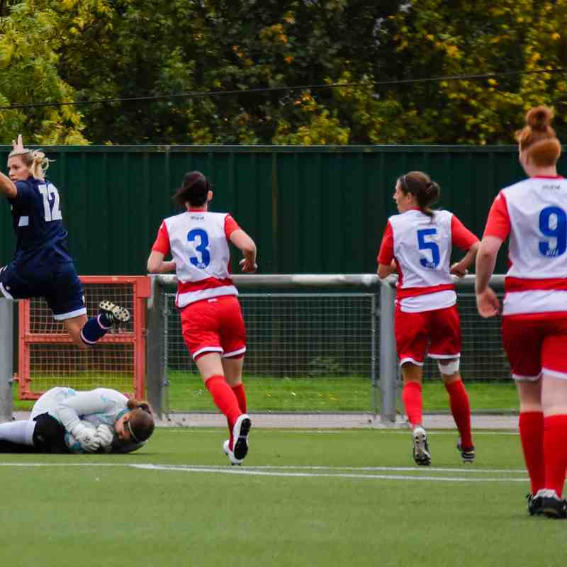 Harlow Ladies 1-0 Denham Utd FA Cup 3Q 8th October