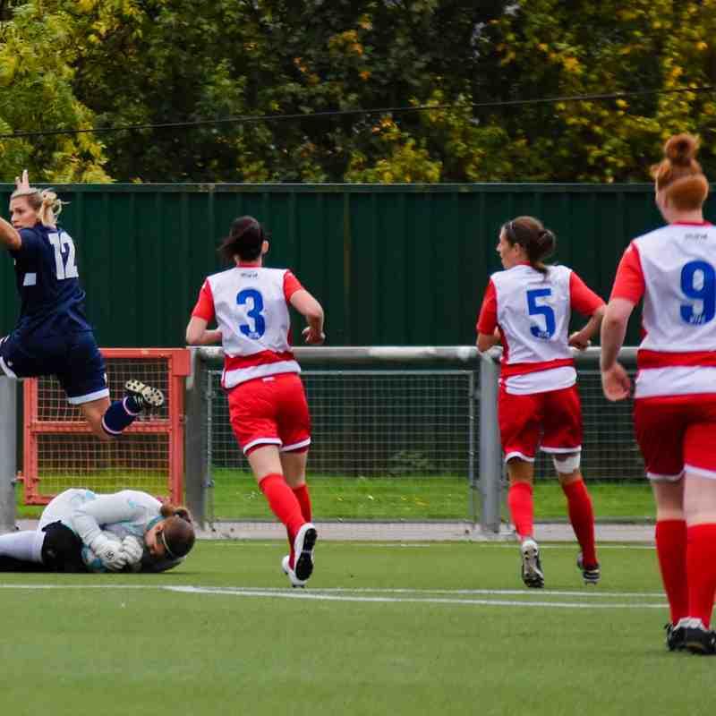 Harlow Ladies 1-0 Denham Utd FA Cup 3Q 8th October