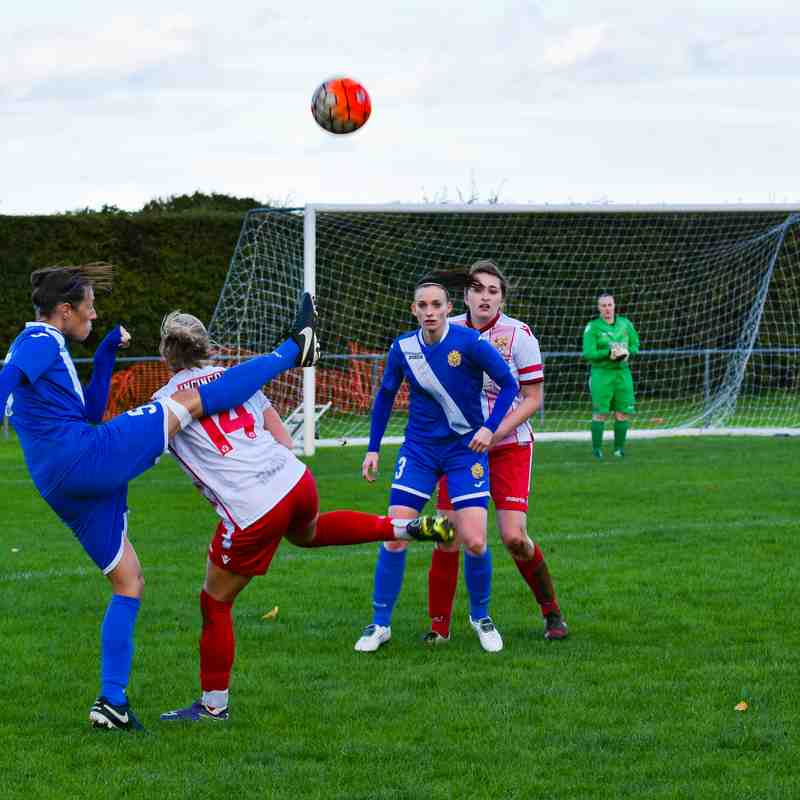 Stevenage Reserves 1-0 Harlow Ladies