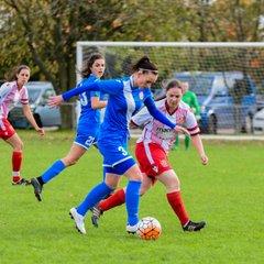 Stevenage Reserves 1-0 Harlow Ladies