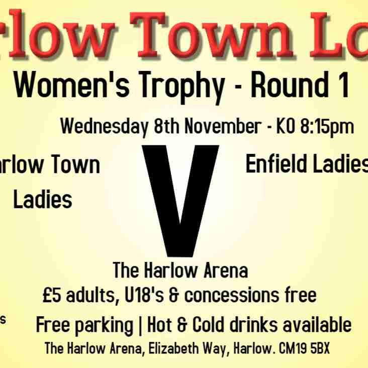 1st Round Women's Trophy