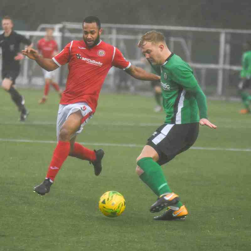 Harlow Town 1-1 Burgess Hill 10th February