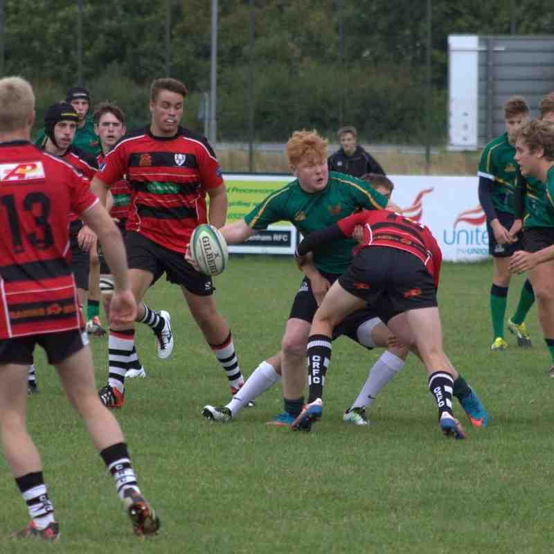 U18 v North Dorset 4 Sept 2016