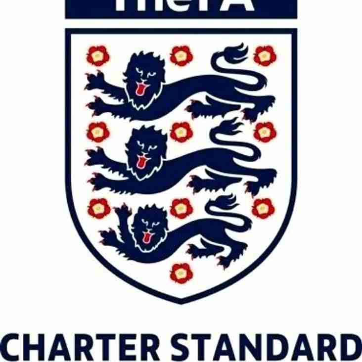 FA Charter Standard Status attained