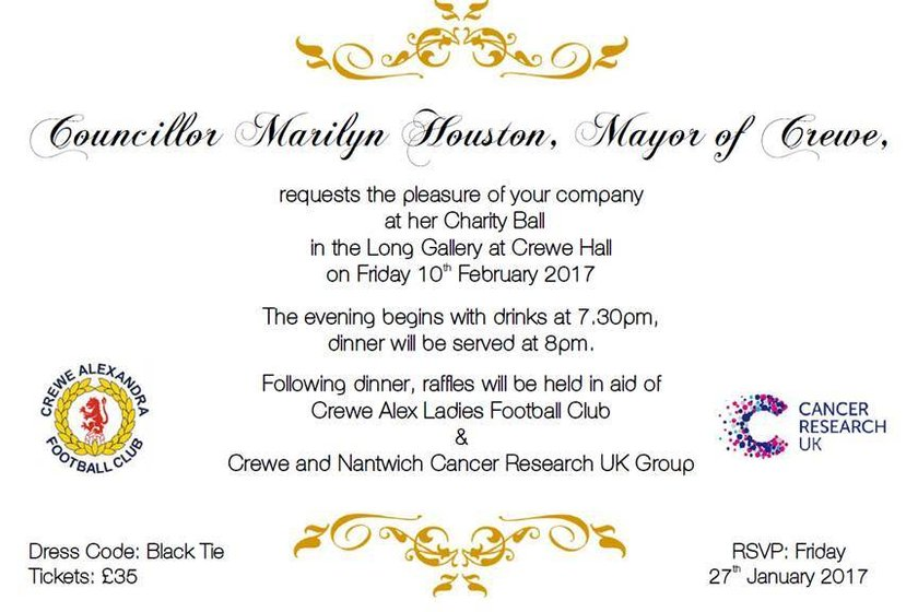 Mayors Ball 2017 to Support CALFC