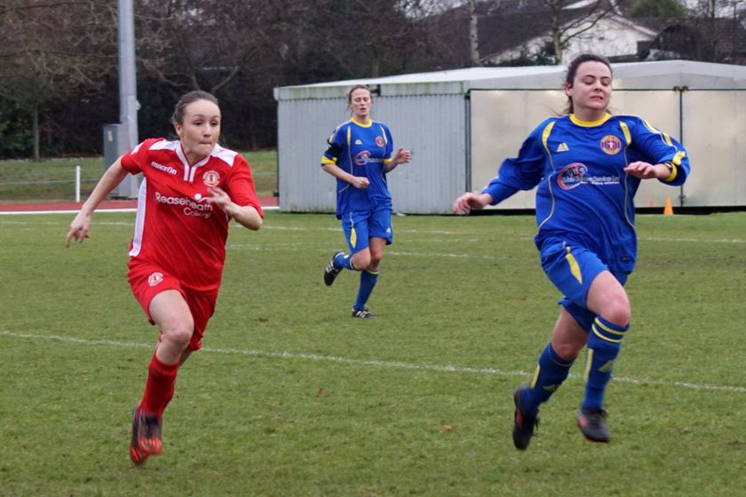 1st Team  beat Mossley Hill Ladies FC 2 - 0