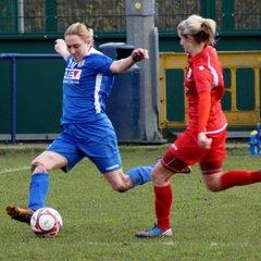 2016-17 Friendly Fixture Merseyrail Bootle Ladies v Crewe Alex Ladies
