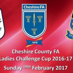 2016-2017 County Cup QF. Crewe Alex Ladies v Ellesmere Port 19/02/2017