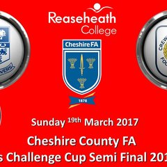 2016-2017 County Cup SF.  Tranmere Rovers Ladies v Crewe Alex Ladies 19/03/2017