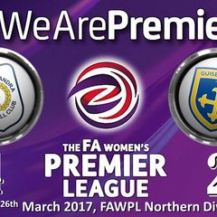 2016-2017 FAWPL Crewe Alex Ladies v Guiseley Vixens 26/03/2017