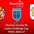 2016-2017 County Cup Final Stockport County Ladies v Crewe Alex Ladies 19/04/2017