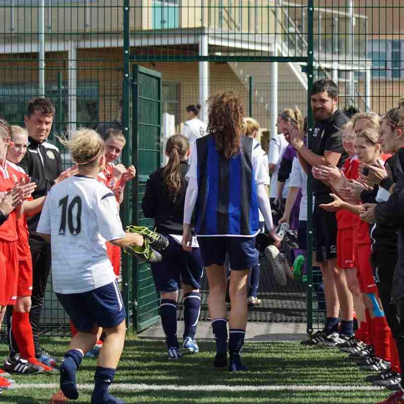 2016-2017 FAWPL Guiseley Vixens v Crewe Alex Ladies 14/05/2017