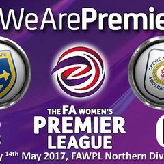 2016-2017 FAWPL Guiseley Vixens v Crewe Alex Ladies 14/05/2017