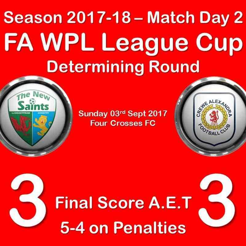 2017-18 Season TNS vs. CALFC FAWPL Cup
