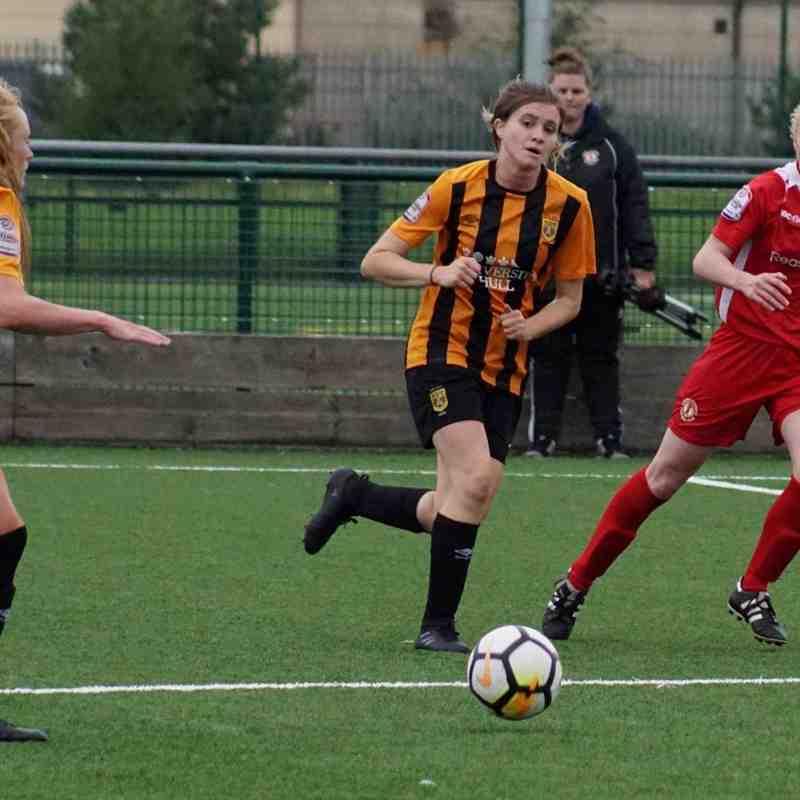 2017-18 Season Hull City LFC vs.CALFC FAWPL Northern Division 1