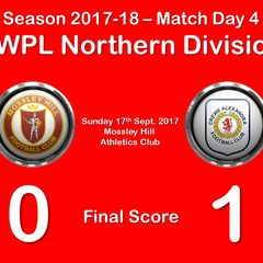 2017-18 Season Mossley Hill LFC vs.CALFC FAWPL Northern Division 1