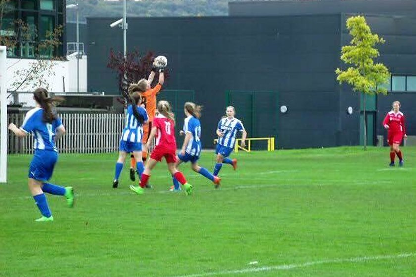 Under 18's Youth Squad beat Chester FC Women U18's 6 - 1