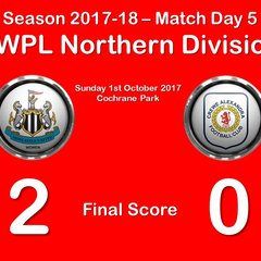 2017-18 Season Newcastle Women FC vs.CALFC FAWPL Northern Division 1