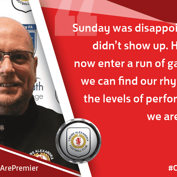 Post-Match Reaction With Tony Heron