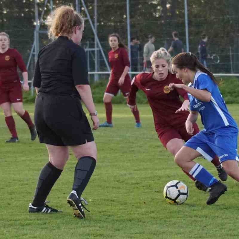 2017-18 Season Mossley Hill Athletic Ladies FC vs.CALFC FAWPL Plate R1