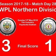 2017-18 Season Brighouse Town LFC vs. CALFC FAWPL Northern Division 1