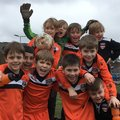 Beeston U10s Battle with Quarrydale