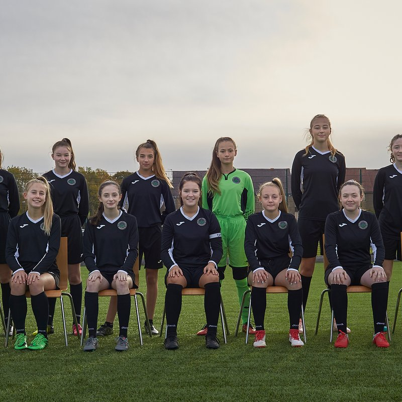 DTCFC U15G beat Blackhall Athletic 5 - 2
