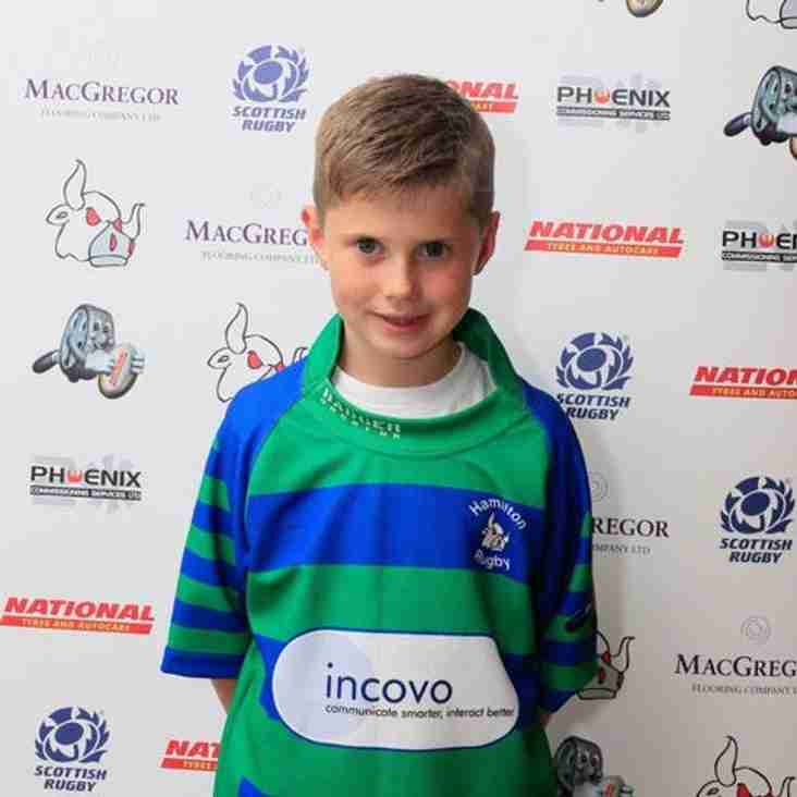 Game Day Mascot – Musselburgh
