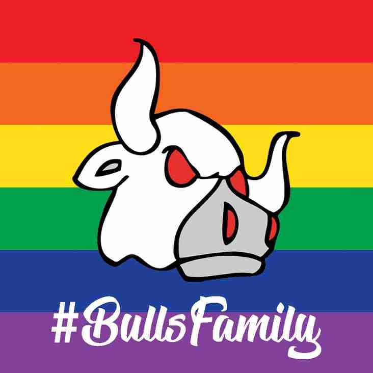 Bulls support PRIDE