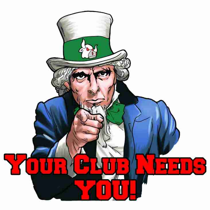 Your Club (still) Needs YOU!