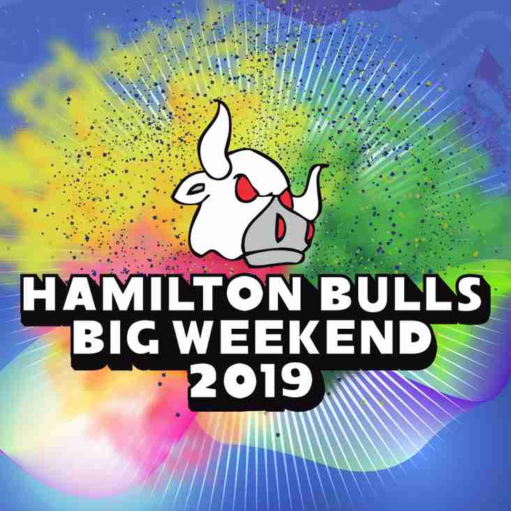 Hamilton Bulls Big Weekend 2019