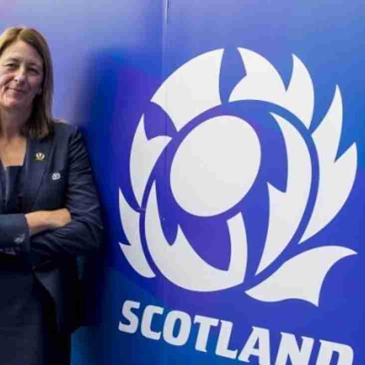 President Ross Whiteside speaks about Scottish Rugby SGM