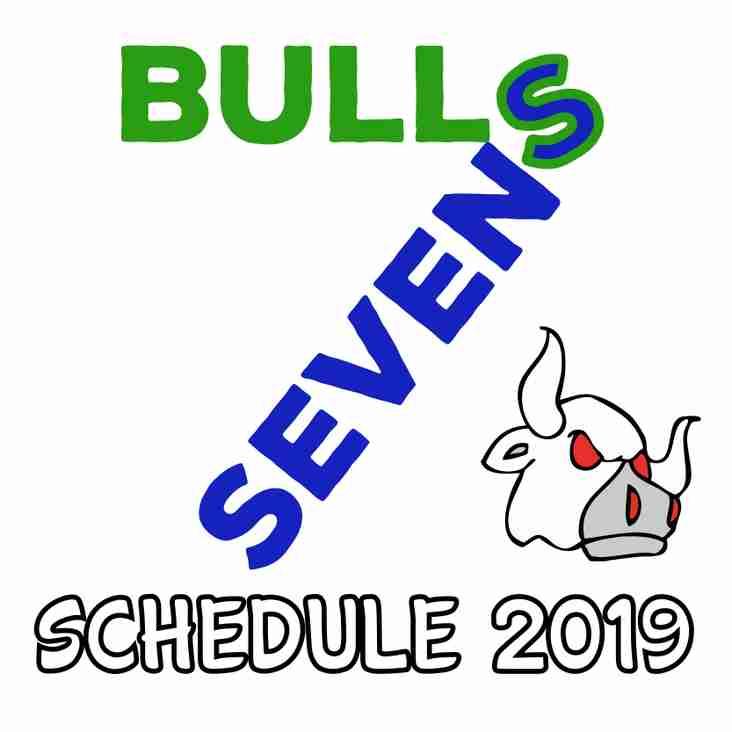 Bulls Sevens Schedule 2019