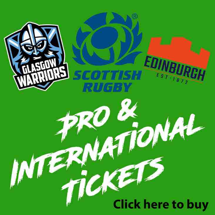 Pro & International Tickets