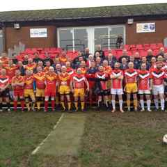 First Ever Masters' Rugby League Festival played at Hopwood Park, Sunday December 13th.